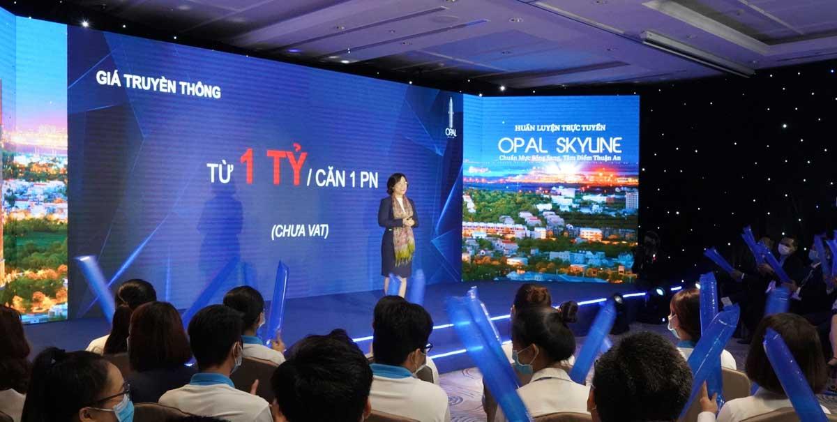chuong trinh live training du an opal skyline - OPAL SKYLINE THUẬN AN BÌNH DƯƠNG