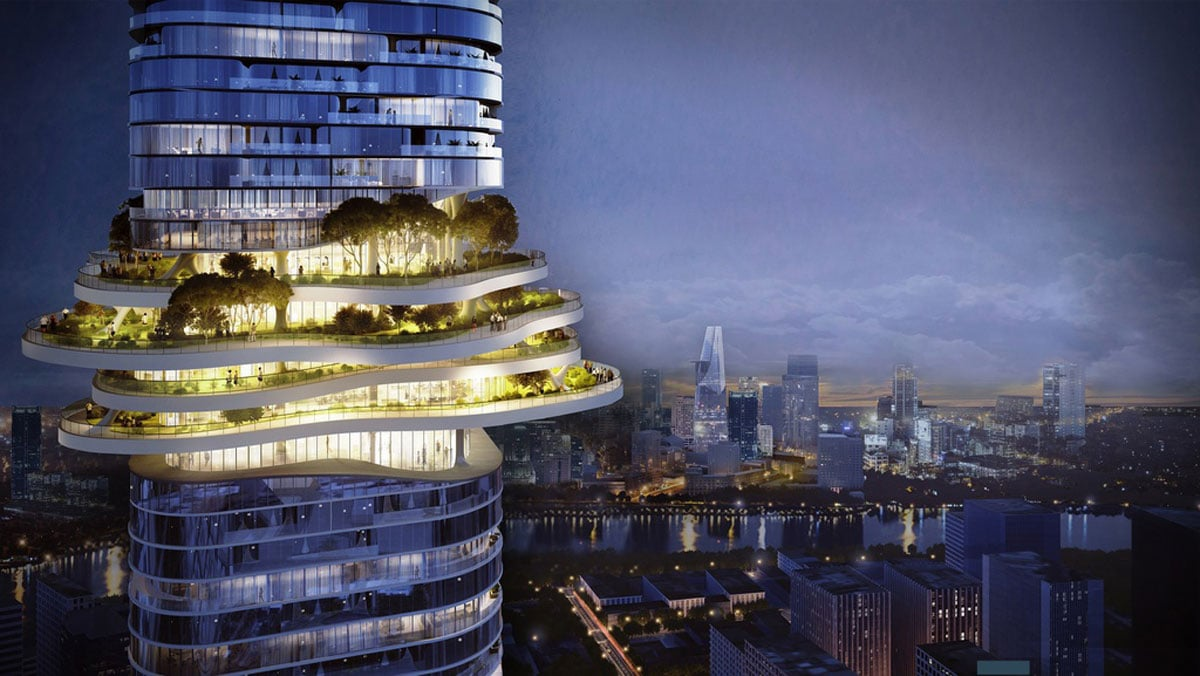 cong vien tren khong Empire 88 Tower - TÒA THÁP CAO NHẤT VIỆT NAM EMPIRE 88 TOWER