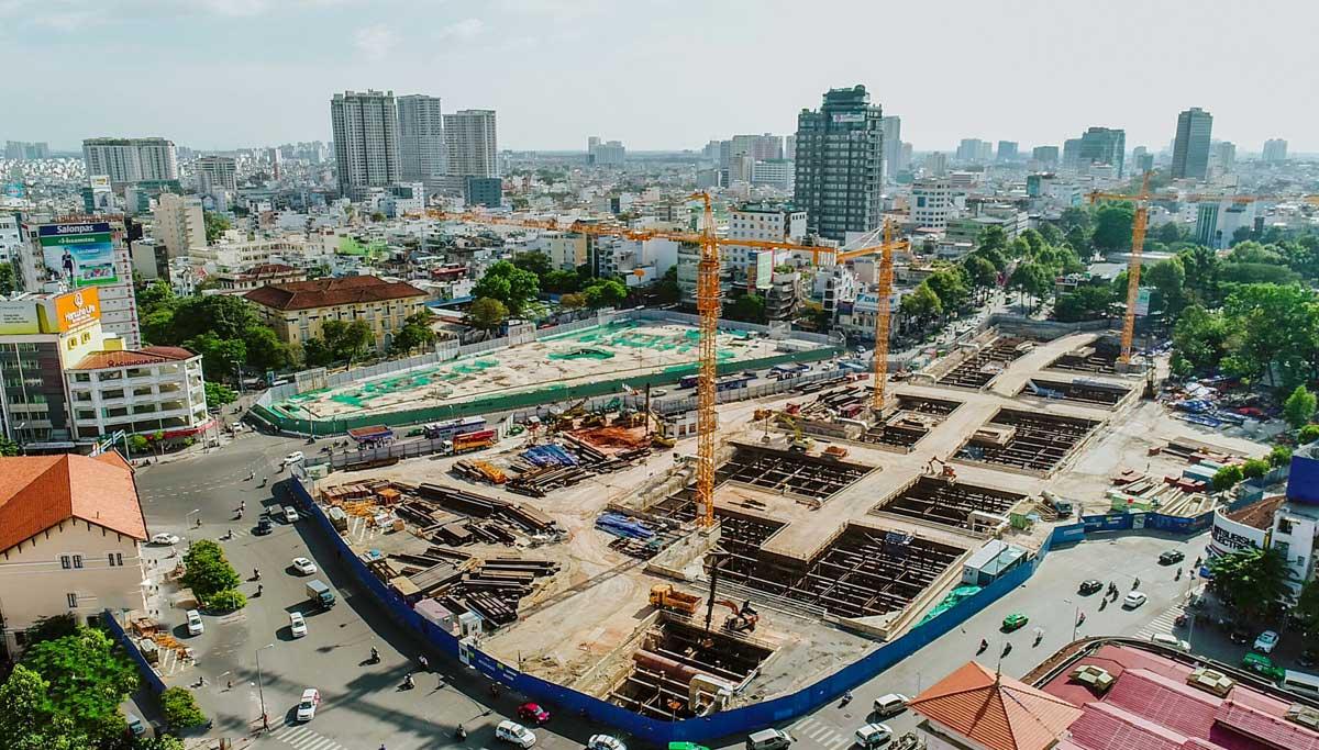 khu vuc nha ga ben thanh tuyen metro so 1 ben thanh suoi tien - Thông tin về Sơ đồ Tuyến Metro số 1: Bến Thành – Suối Tiên