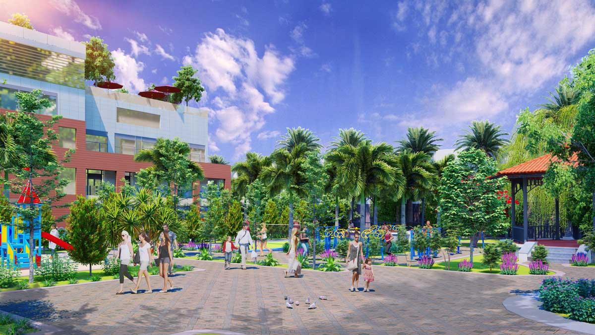 khu vui choi tre em du an nam an new city - NAM AN NEW CITY BÀU BÀNG BÌNH DƯƠNG