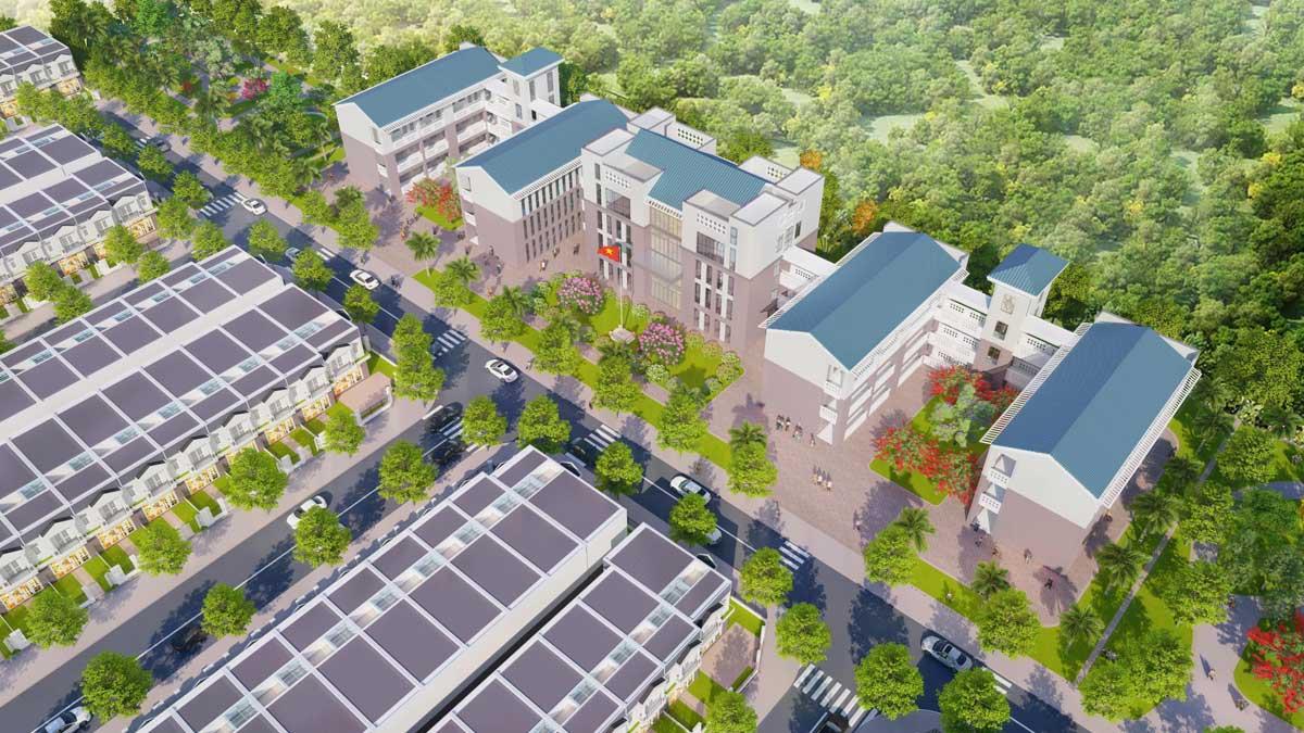 phoi canh du an nam an new city - NAM AN NEW CITY BÀU BÀNG BÌNH DƯƠNG