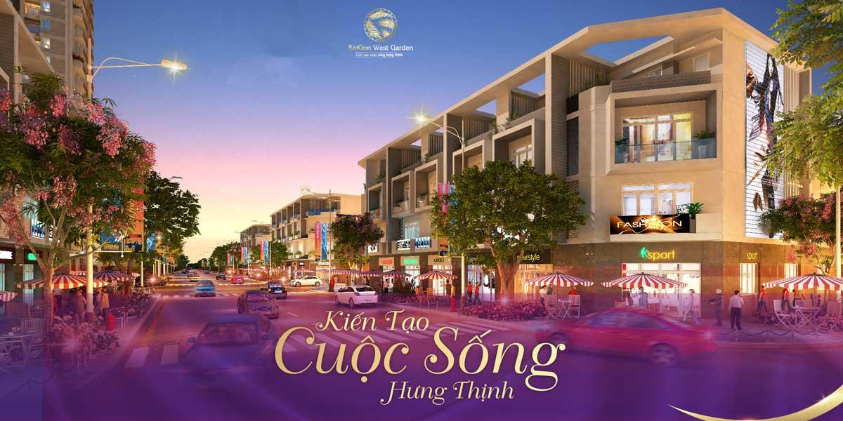 phoi canh nha pho saigon west garden - DỰ ÁN SAIGON WEST GARDEN BÌNH TÂN