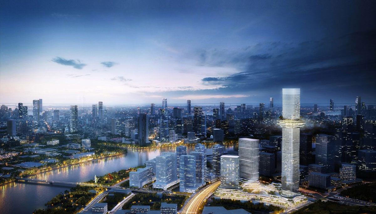 Toàn cảnh Tòa tháp Empire 88 Tower Cao Nhất Việt Nam