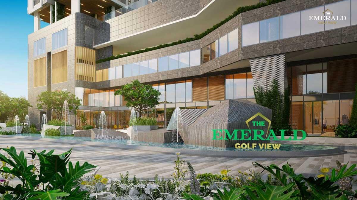 sanh truoc du an the emerald golf view - THE EMERALD GOLF VIEW BÌNH DƯƠNG