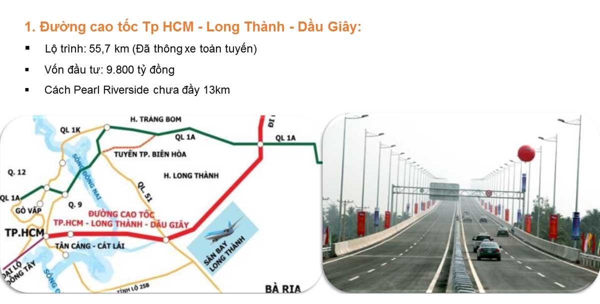 thong tin tong the cao toc tphcm long thanh dau giay - Mở rộng Cao tốc TP HCM – Long Thành – Dầu Giây