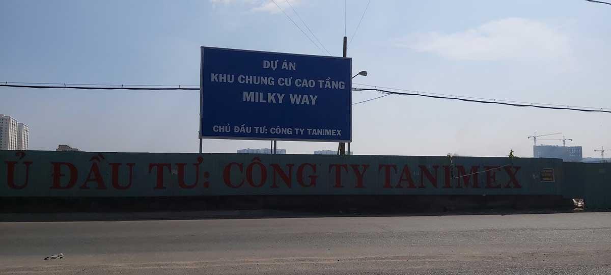 tien do thi cong du an can ho chung cu milky way - DỰ ÁN CĂN HỘ CHUNG CƯ MILKY WAY BÌNH TÂN