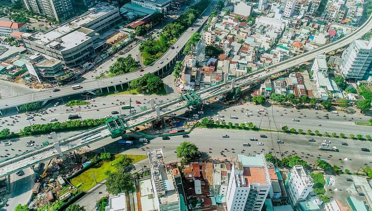tien do thi cong metro so 1 ben thanh suoi tien moi nhat - Thông tin về Sơ đồ Tuyến Metro số 1: Bến Thành – Suối Tiên