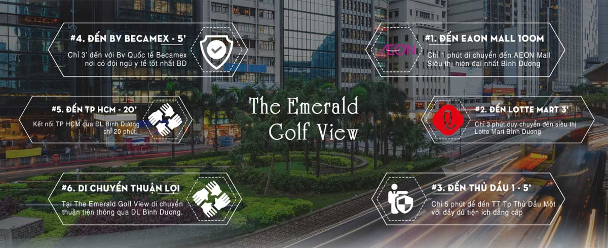 tien ich lien ket vung du an the emerald golf view - THE EMERALD GOLF VIEW BÌNH DƯƠNG