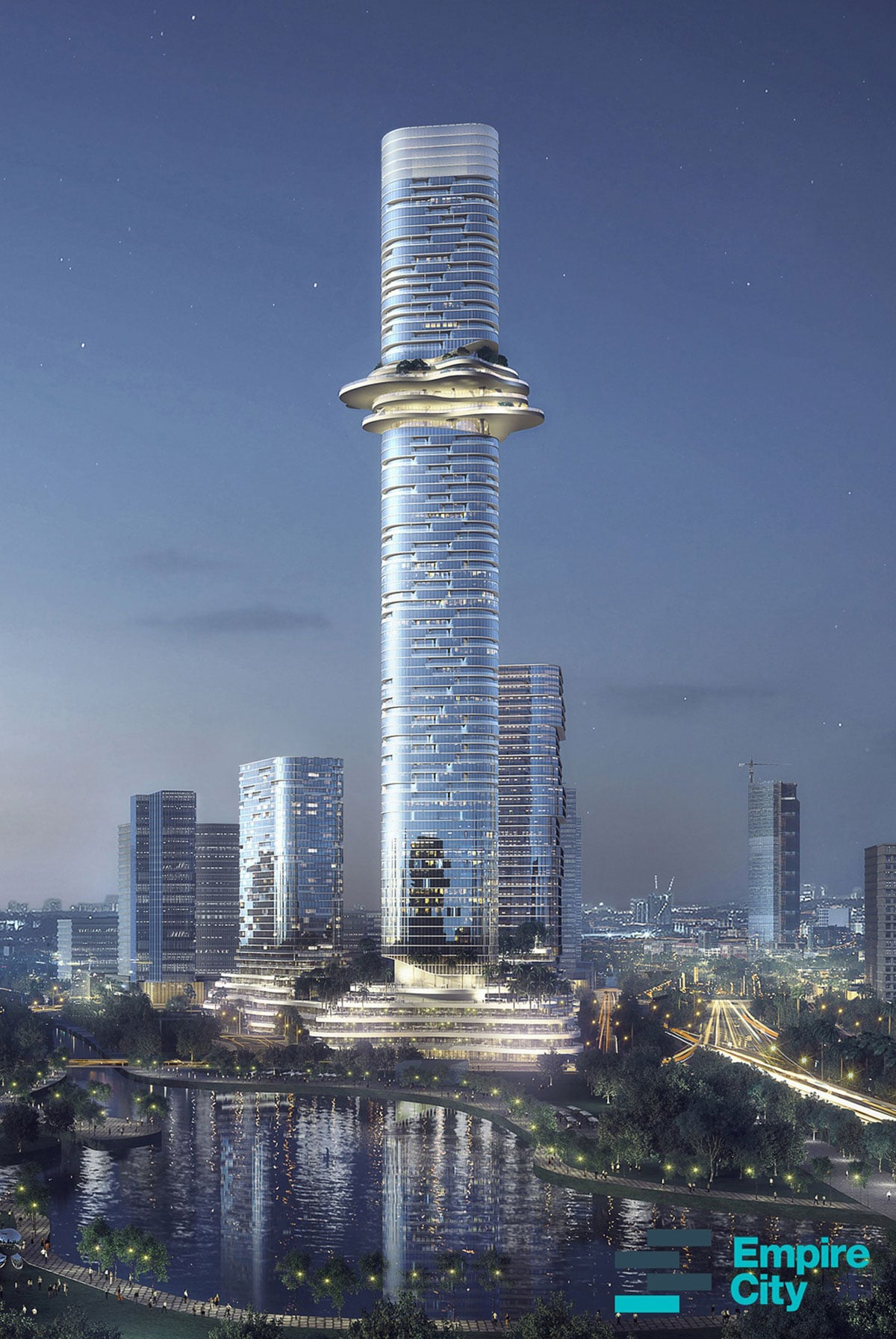 toan canh toa thap Empire 88 Tower cao nhat viet nam - TÒA THÁP CAO NHẤT VIỆT NAM EMPIRE 88 TOWER
