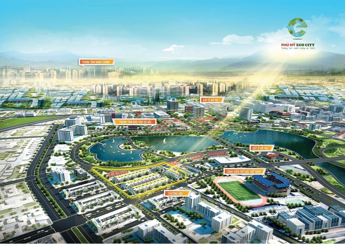 tong quang phu my eco city - DỰ ÁN ĐẤT NỀN PHÚ MỸ ECO CITY