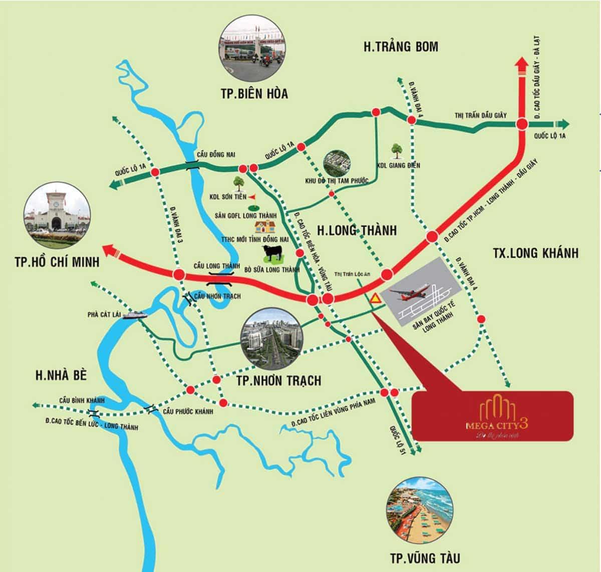 vi tri du an mega city 3 long thanh - DỰ ÁN MEGA CITY 3LONG THÀNH ĐỒNG NAI