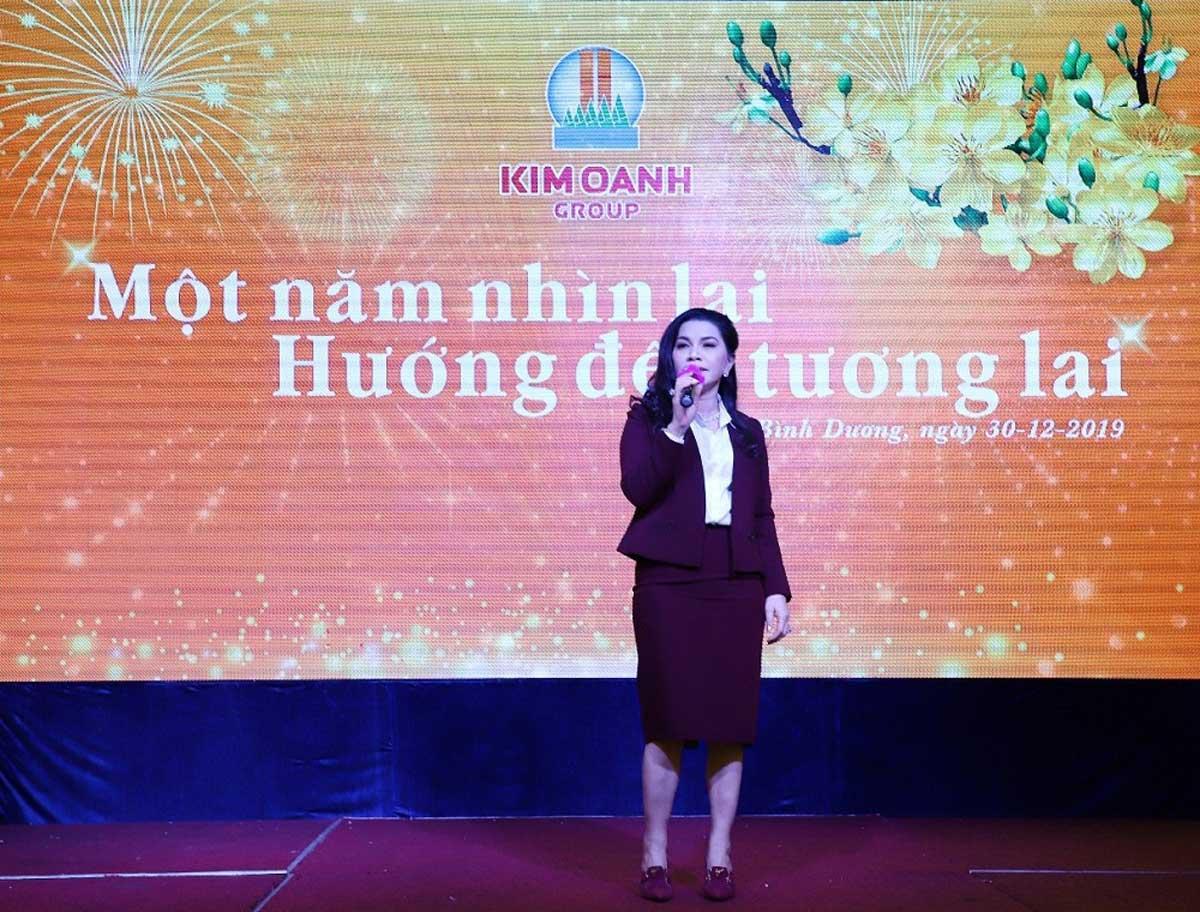 Bà Đặng Thị Kim Oanh chủ tịch Kim Oanh - KIM OANH GROUP