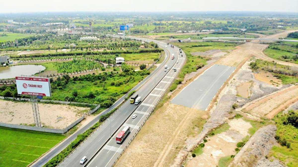 Cao tốc Trung Lương Mỹ Thuận nối với cao tốc Mỹ Thuận Cần Thơ đang triển khai theo hình thức BOT - Đường Cao tốc Mỹ Thuận Cần Thơ