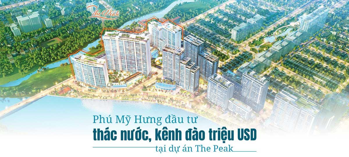 Dự án The Peak - CÔNG TY TNHH PHÁT TRIỂN PHÚ MỸ HƯNG