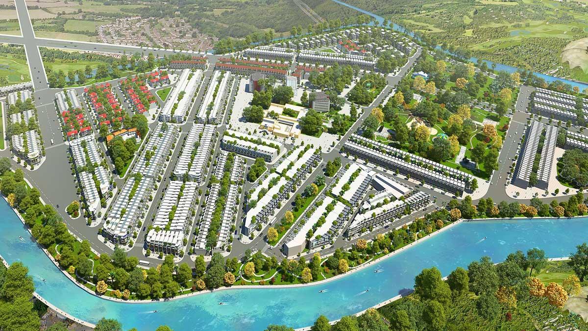 Dai Phuc Green Villas - TẬP ĐOÀN BẤT ĐỘNG SẢN ĐẠI PHÚC - DAI PHUC GROUP