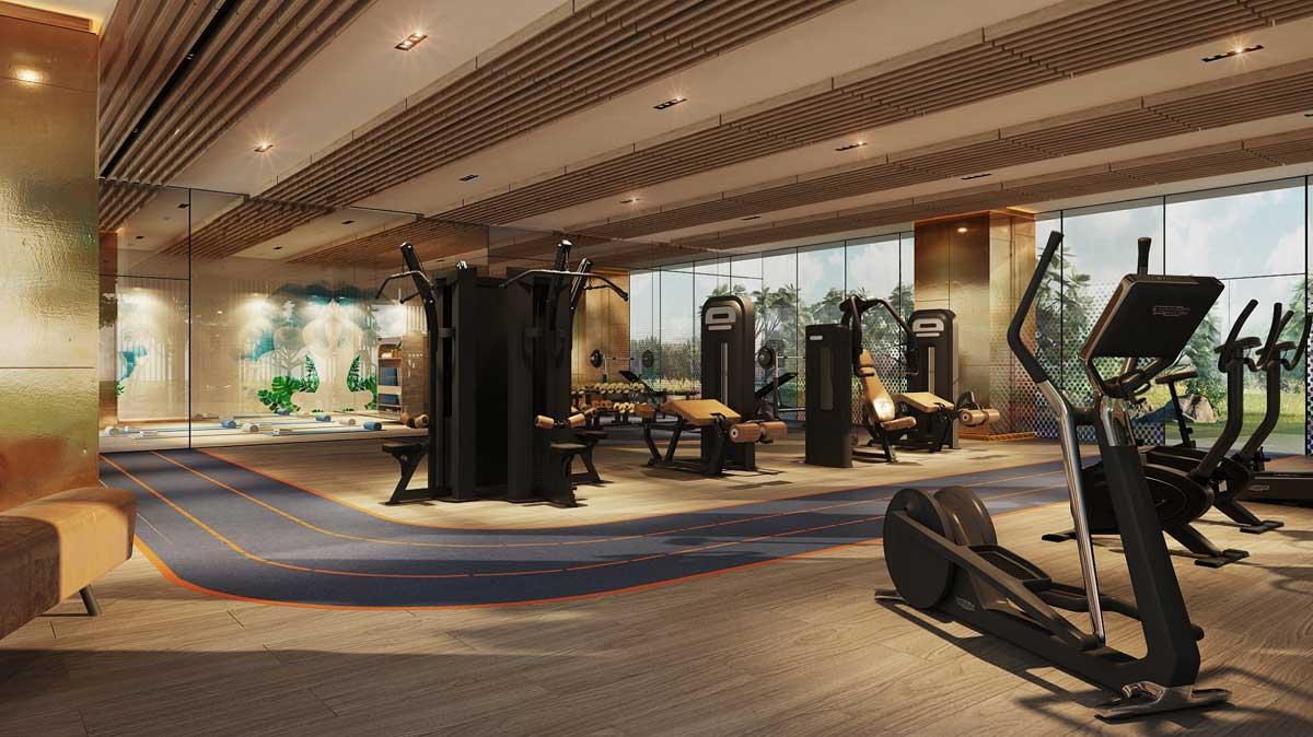 Gym Vị trí Dự án Căn hộ The Crest Residence Thủ Thiêm - THE CREST RESIDENCE