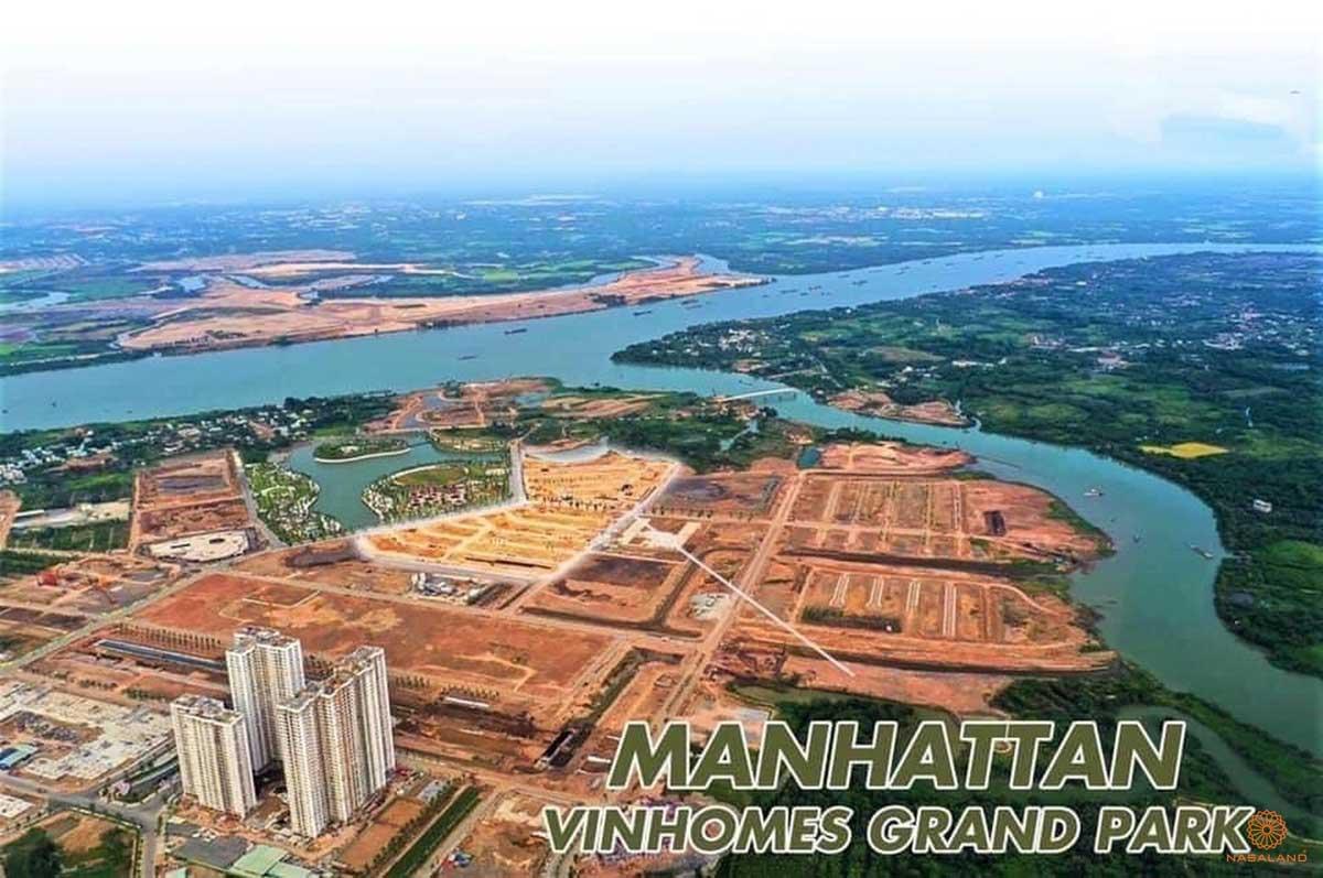 Hình ảnh thực tế Phân khu nhà phố The Manhattan Vinhomes Grand Park - NHÀ PHỐ THE MANHATTAN - VINHOMES GRAND PARK