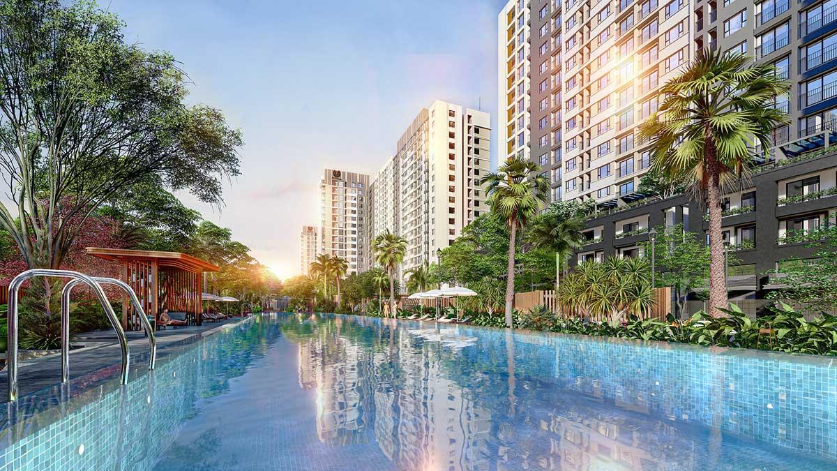Hồ bơi picity high park 2020 - PICITY HIGH PARK QUẬN 12