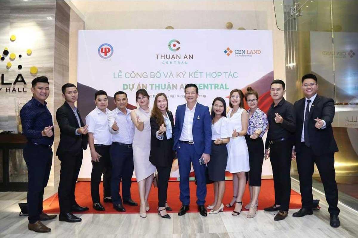 Lễ công bố và ký hợp tác dự án Thuận An Central - CÔNG TY TNHH ĐẦU TƯ VÀ PHÁT TRIỂN LÊ PHONG