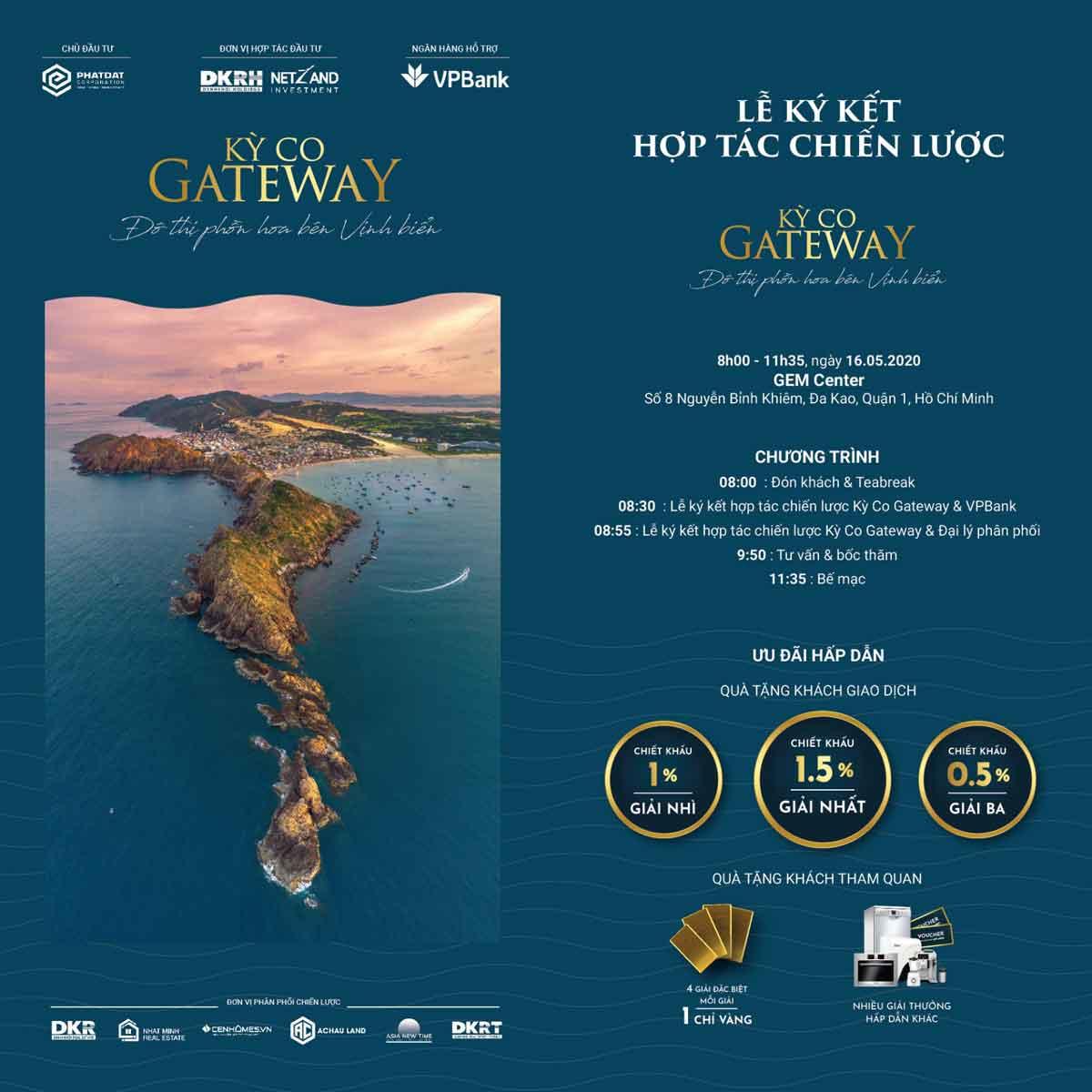 Lễ ký kết và hợp tác chiến lược dự án Kỳ Co Gateway