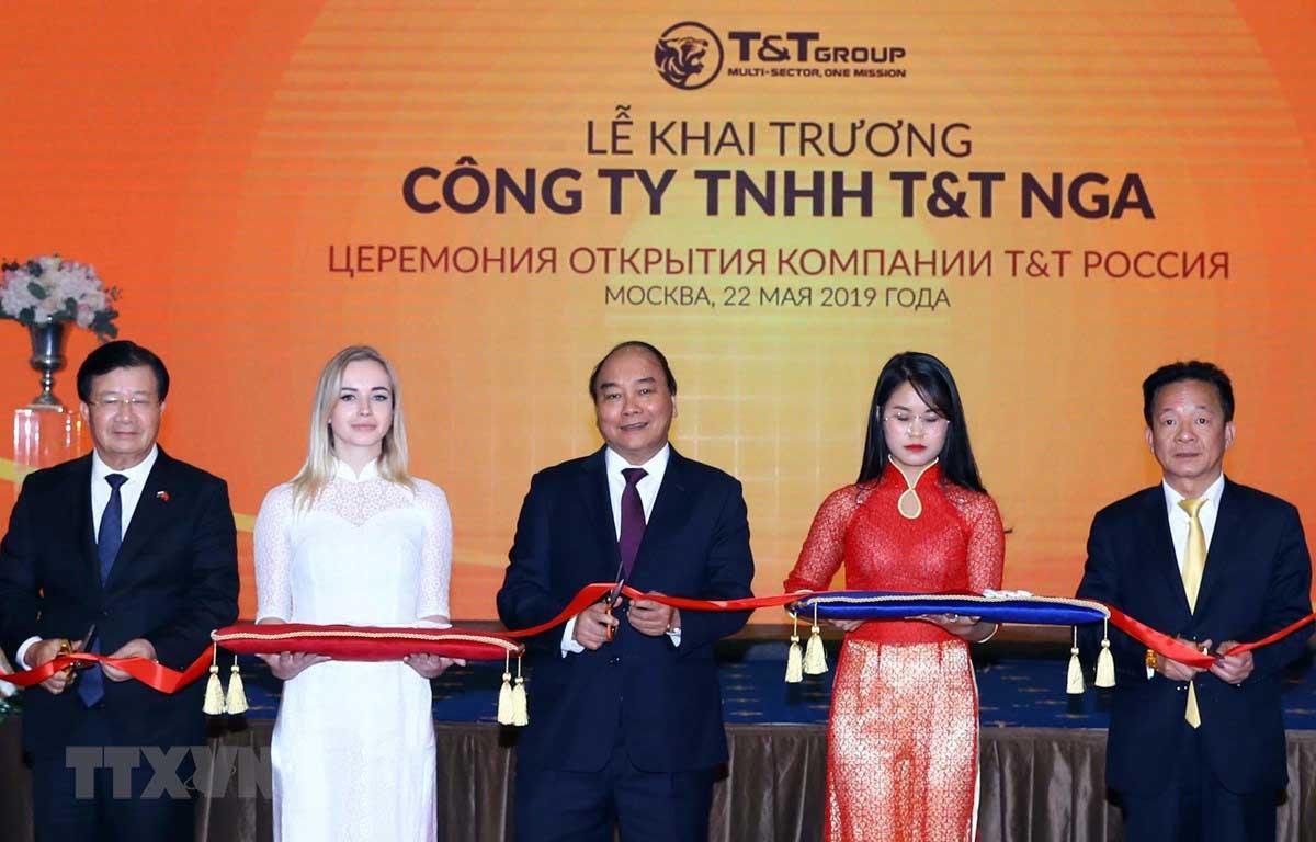 Thủ tướng dự lễ khai trương hoạt động của Tập đoàn TT Group tại Nga - TẬP ĐOÀN T&T GROUP