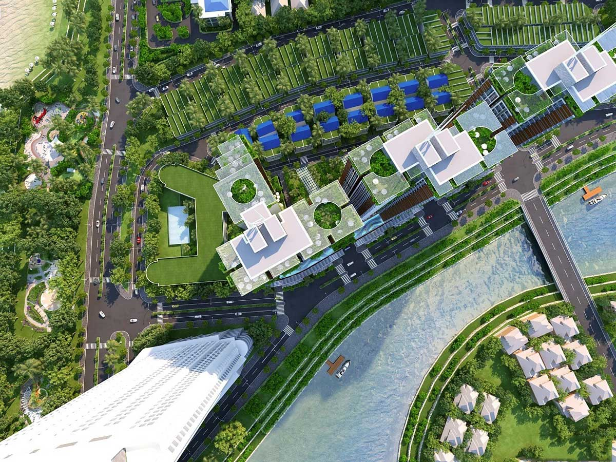 The Aston Luxury Residence Nha Trang view song cai - THE ASTON LUXURY RESIDENCE NHA TRANG