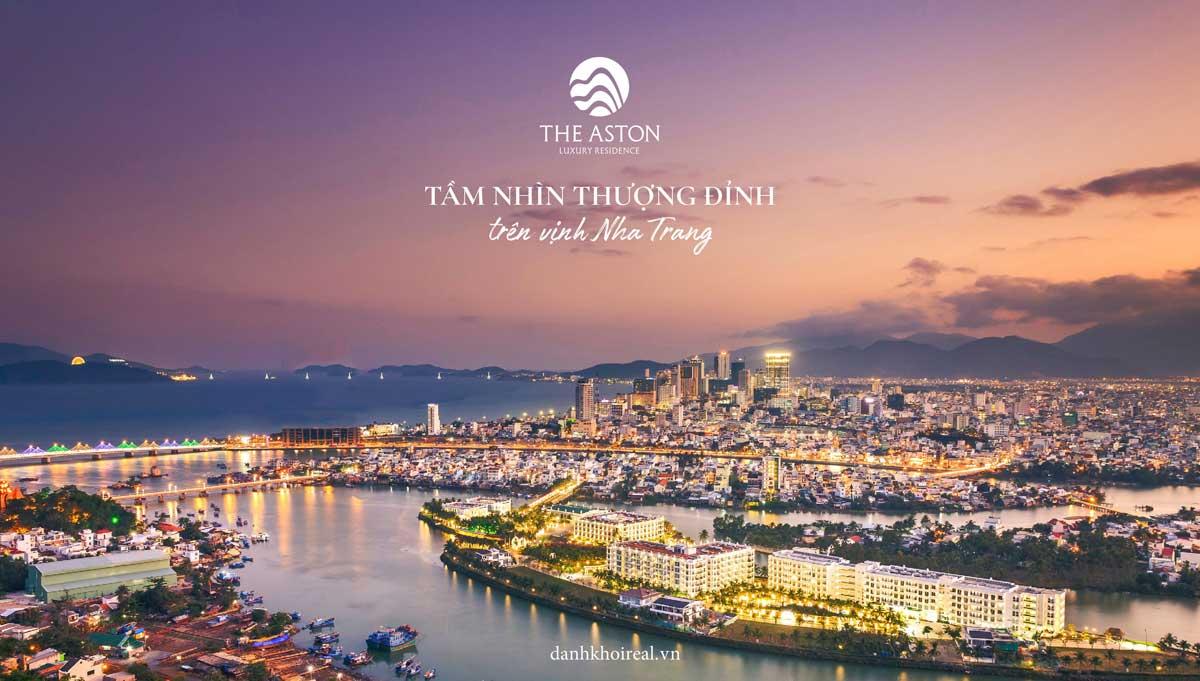 The Aston Luxury Residence huong nhin thuong dinh tren Vinh Nha Trang - THE ASTON LUXURY RESIDENCE NHA TRANG