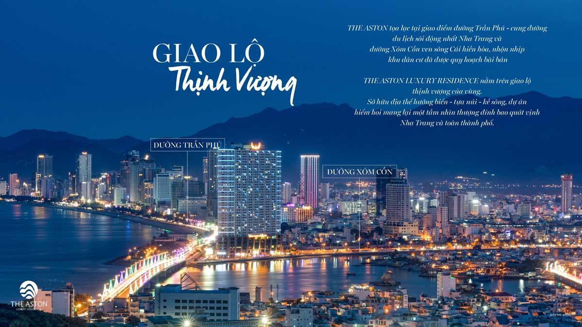 The Aston Luxury Residence ngay giao lộ thịnh vượng bên Vịnh Nha Trang