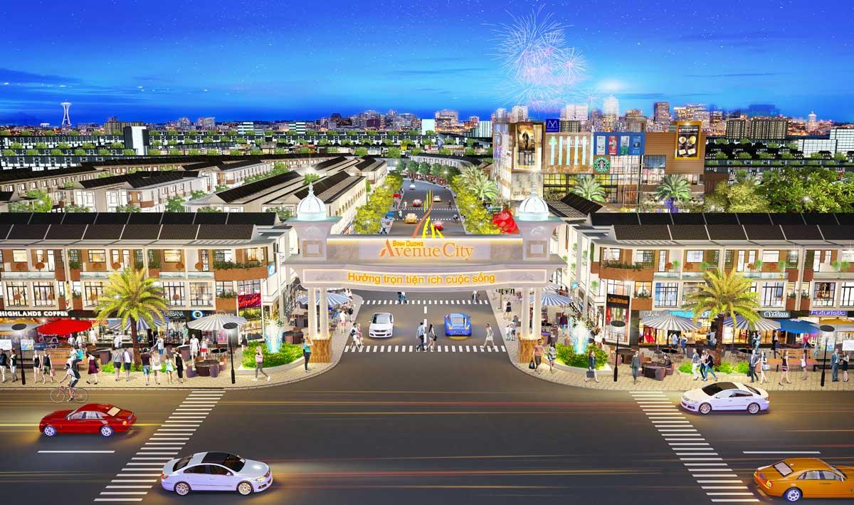 bình dương avenue city - BÌNH DƯƠNG AVENUE CITY