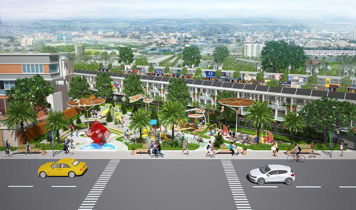 cong vien binh duong avenue city - BÌNH DƯƠNG AVENUE CITY