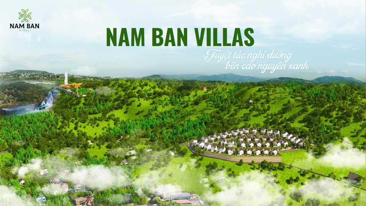 du an nam ban villas - NAM BAN VILLAS LÂM ĐỒNG