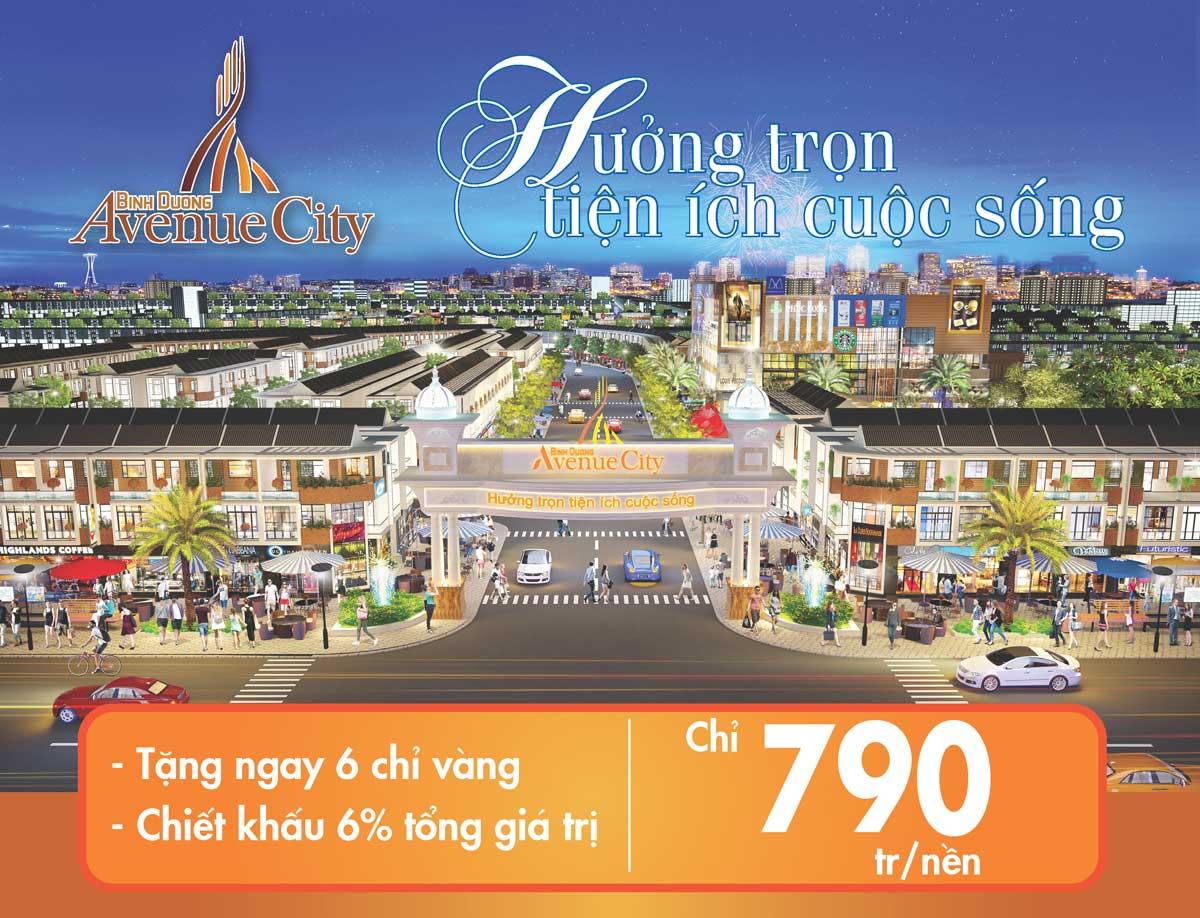 giá bán dự án bình dương avenue city - BÌNH DƯƠNG AVENUE CITY
