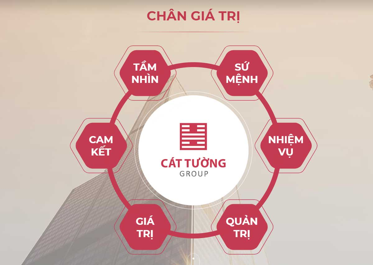 gia tri cty cat tuong - CÁT TƯỜNG GROUP