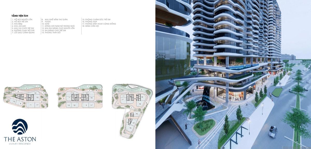 he thong tien ich noi khu du an the aston luxury residence nha trang - THE ASTON LUXURY RESIDENCE NHA TRANG