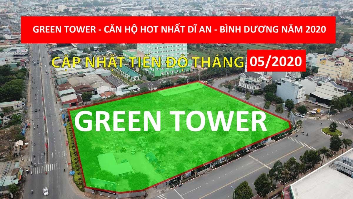 hinh anh khu dat du an can ho green tower - GREEN TOWER DĨ AN BÌNH DƯƠNG