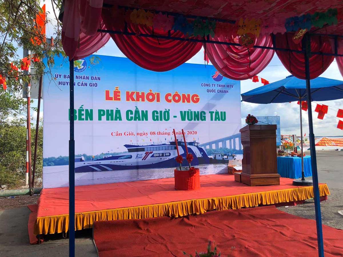 le khoi cong ben pha can gio vung tau - Bến Phà Cần Giờ - Vũng Tàu