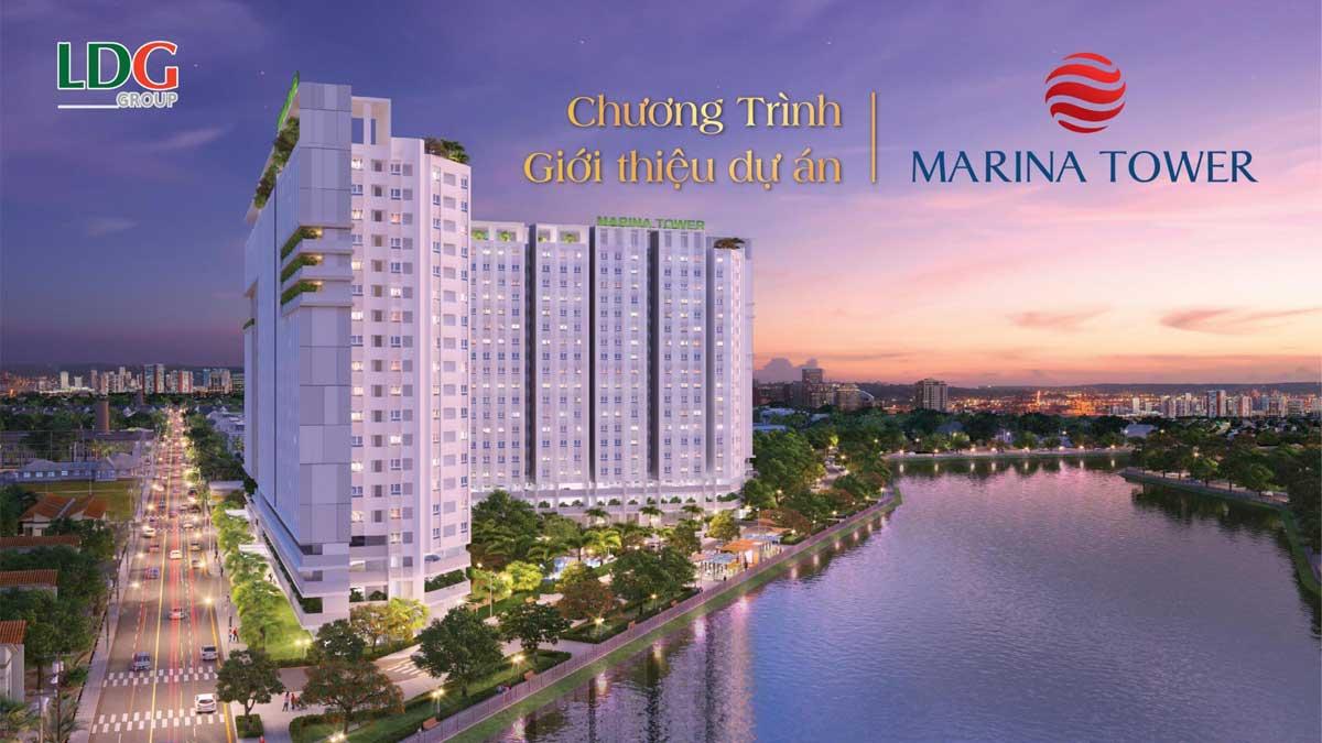 marina tower Binh duong - CÔNG TY CỔ PHẦN ĐẦU TƯ LDG (LDG GROUP)