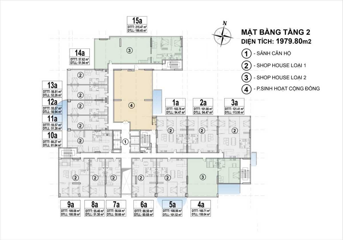 mat bang tang 2 du an venus luxury - VENUS LUXURY QUẬN 5