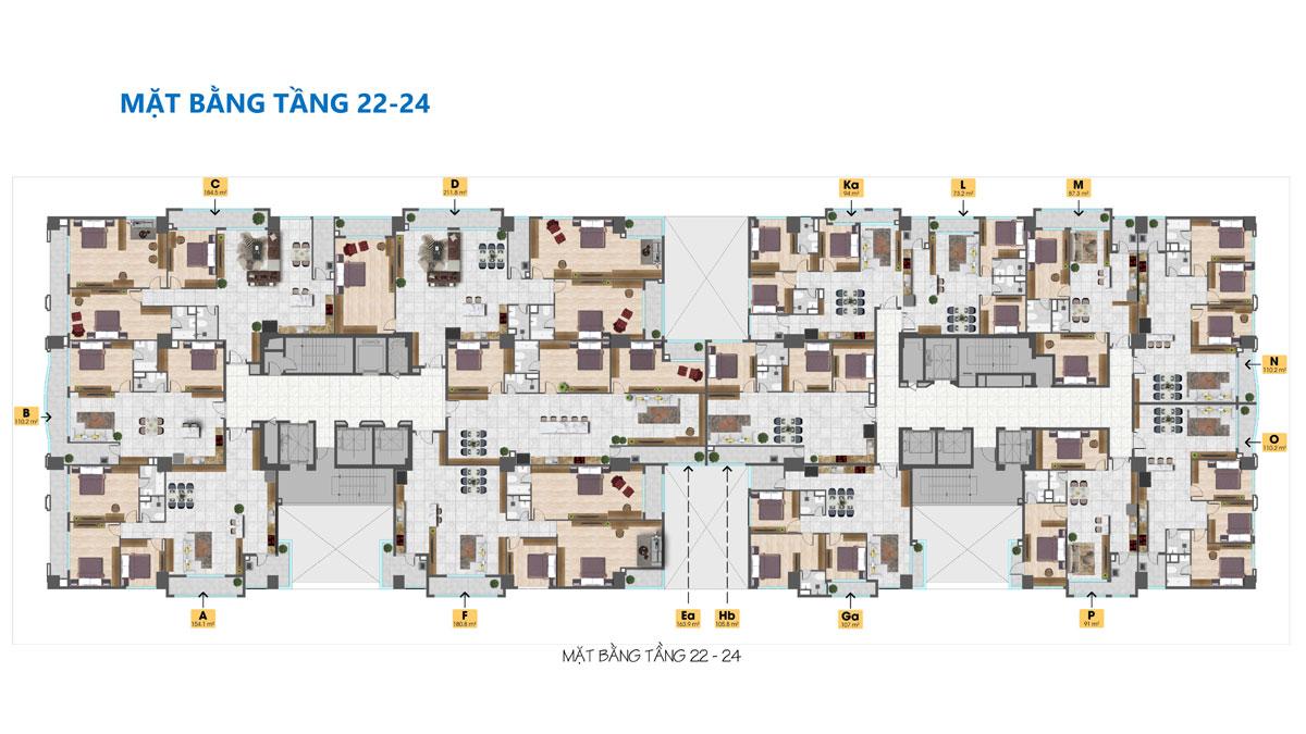 mat bang tang 22 24 du an tam duc plaza - TAM ĐỨC PLAZA QUẬN 5