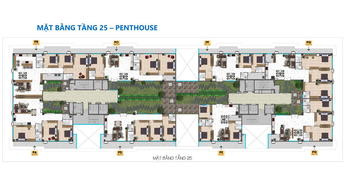 mat bang tang 25 du an tam duc plaza - TAM ĐỨC PLAZA QUẬN 5