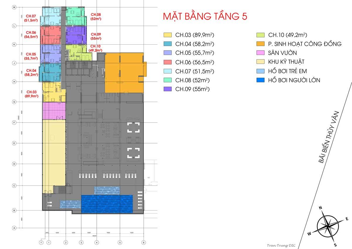 mat bang tang 5 csj tower vung tau - CSJ TOWER VŨNG TÀU