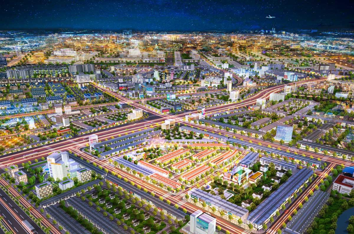 phối cảnh tổng thể dự án bình dương avenue city - BÌNH DƯƠNG AVENUE CITY