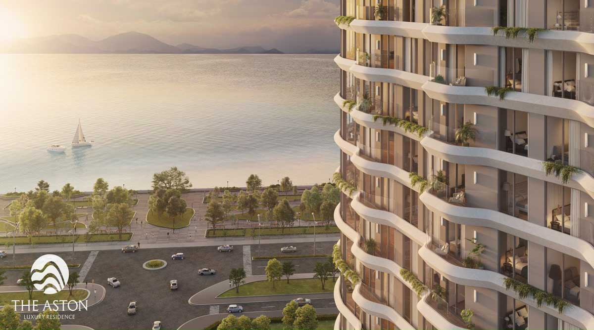 the aston luxury residence view song cai - Căn hộ nào được sở hữu lâu dài tại mặt tiền biển Trần Phú Nha Trang