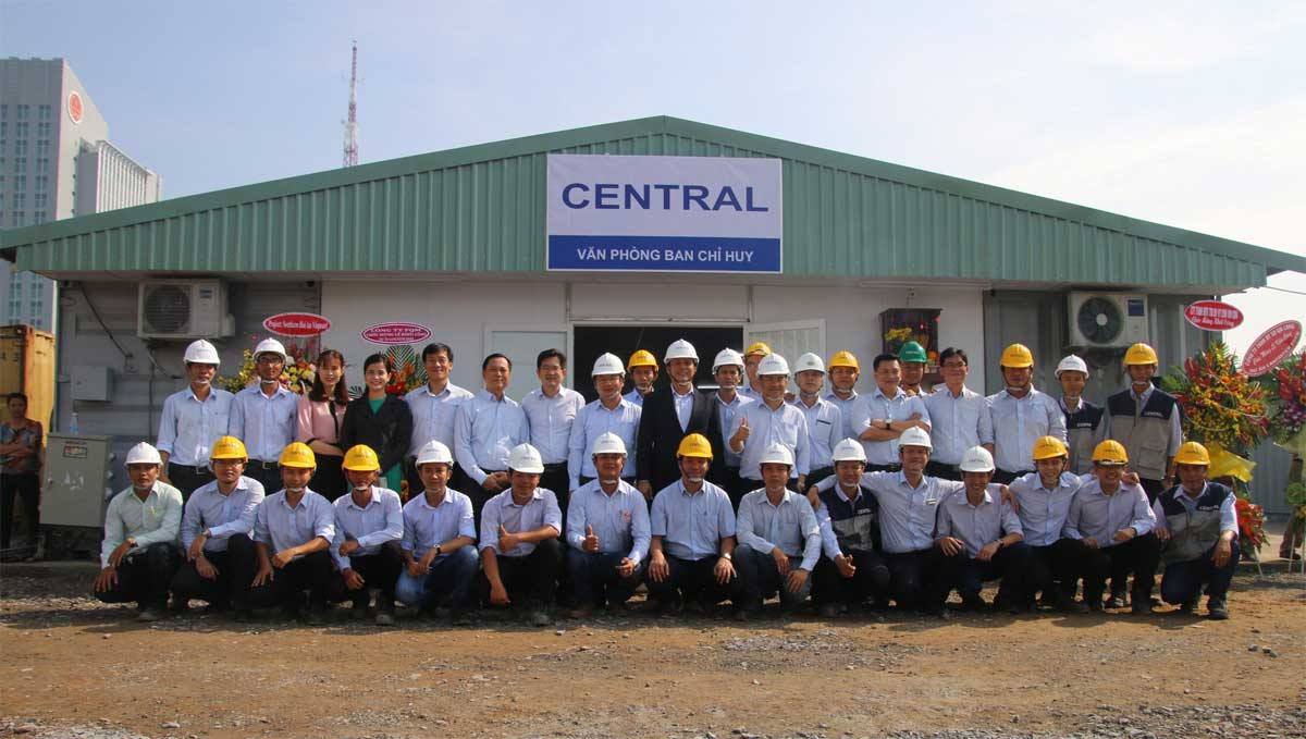 Central cons - CÔNG TY CP XÂY DỰNG CENTRAL