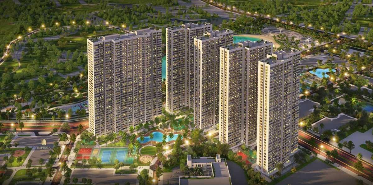 Dự án Imperia Vinhomes Smart City - CÔNG TY CỔ PHẦN XÂY DỰNG PHỤC HƯNG HOLDINGS