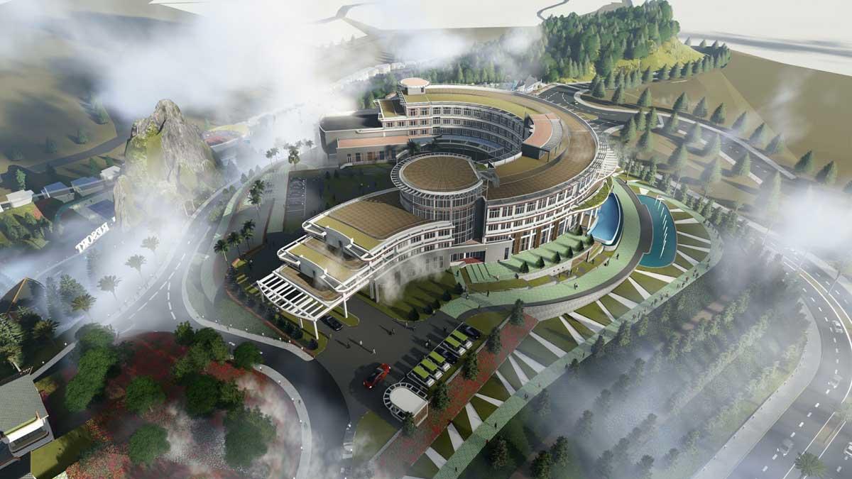 Lady Hill Resort Sapa - CÔNG TY CỔ PHẦN TẬP ĐOÀN XÂY DỰNG HÒA BÌNH