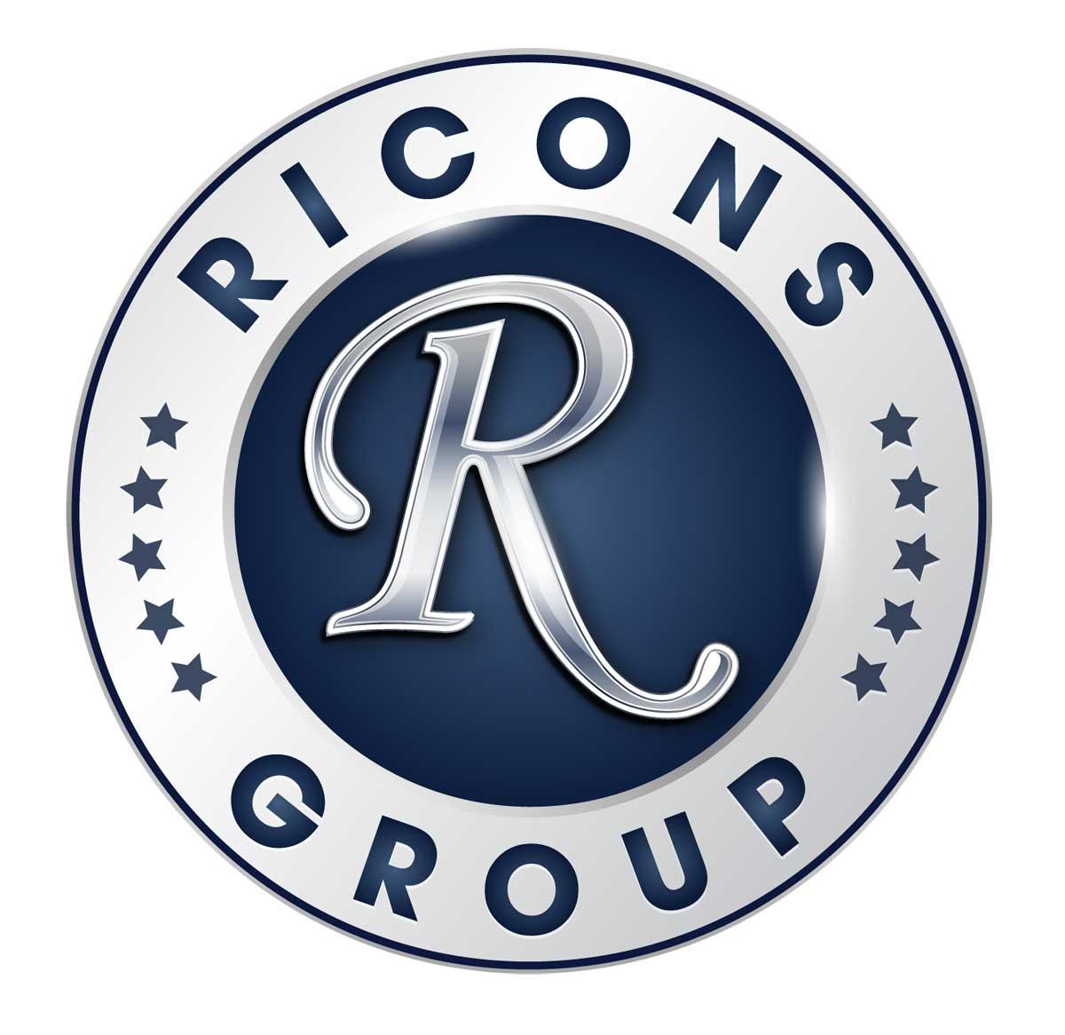 Logo Ricons Group - CÔNG TY CỔ PHẦN ĐẦU TƯ XÂY DỰNG RICONS