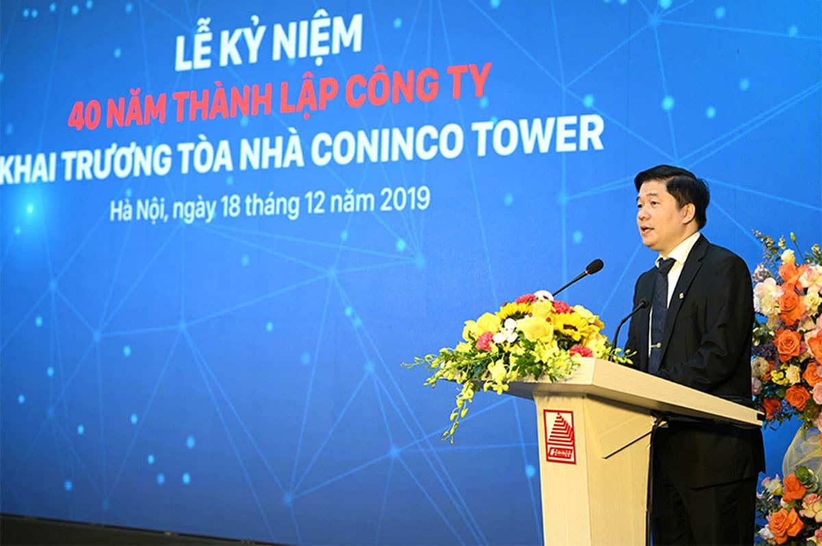 TS. Hà Minh – Tổng Giám đốc CONINCO - CÔNG TY CỔ PHẦN TƯ VẤN CÔNG NGHỆ THIẾT BỊ VÀ KIỂM ĐỊNH XÂY DỰNG CONINCO