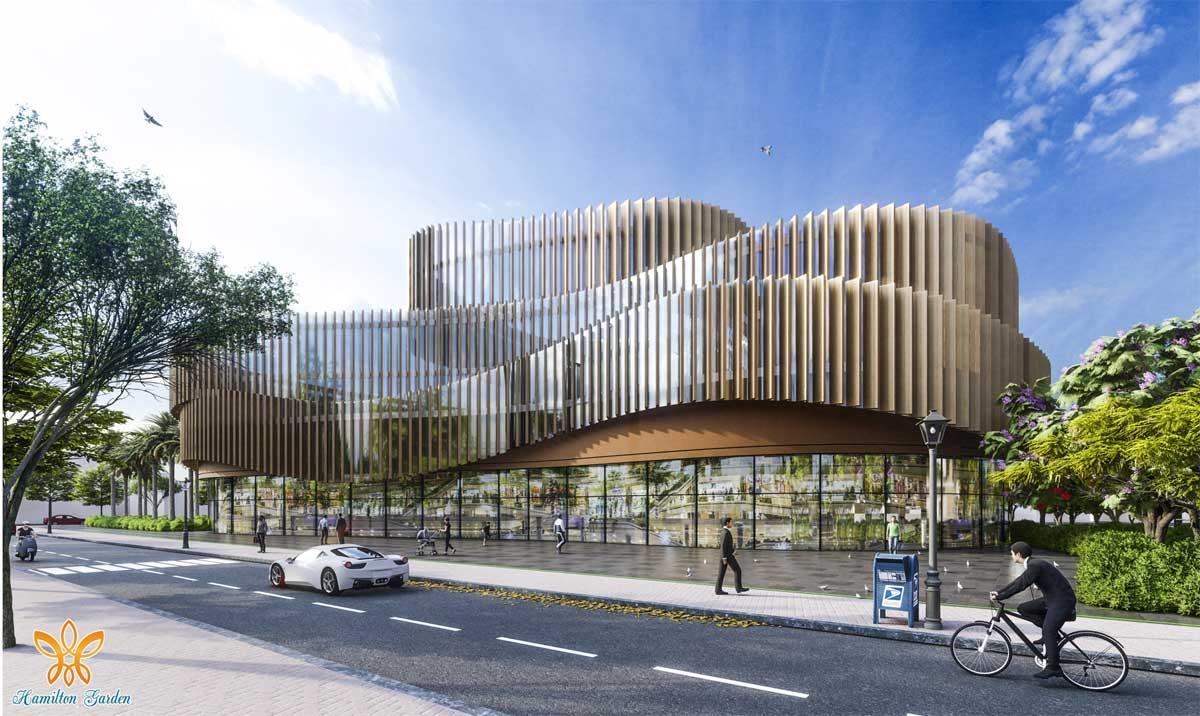Trung tâm thương mại Quốc tế Hamall - HAMILTON GARDEN LONG AN