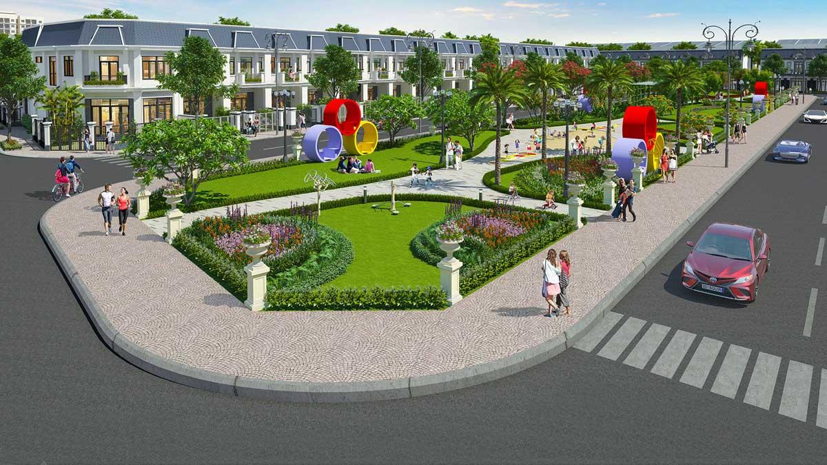 công viên dạo bộ Công viên Century Park 2ha - CENTURY CITY LONG THÀNH ĐỒNG NAI
